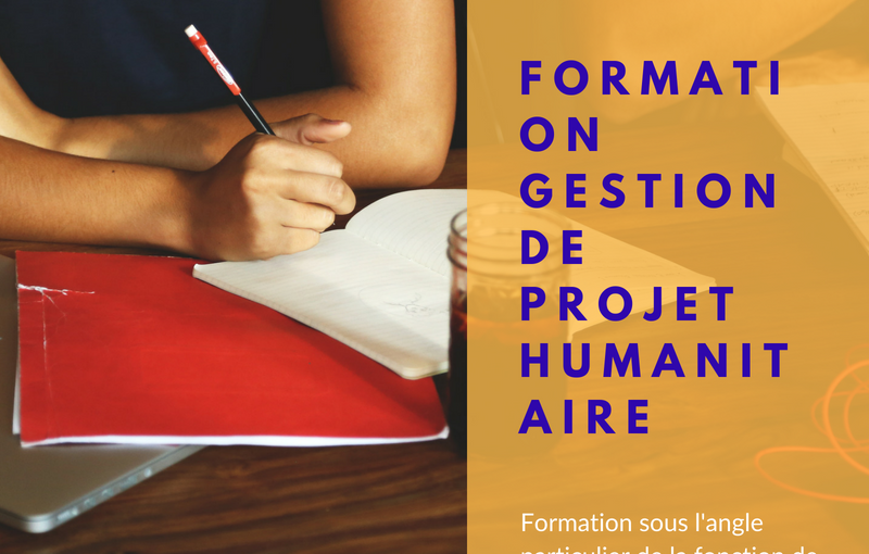 Formation Gestion de projet humanitaire