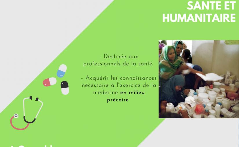 Formation Santé et humanitaire