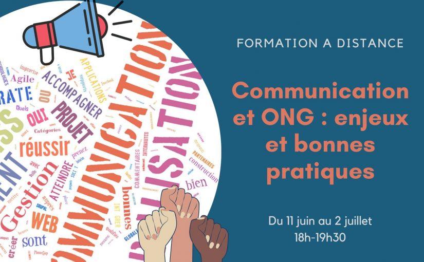 Formation à distance : Communication et ONG : enjeux et bonnes pratiques